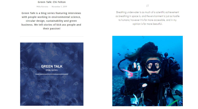 Interview Green Talk