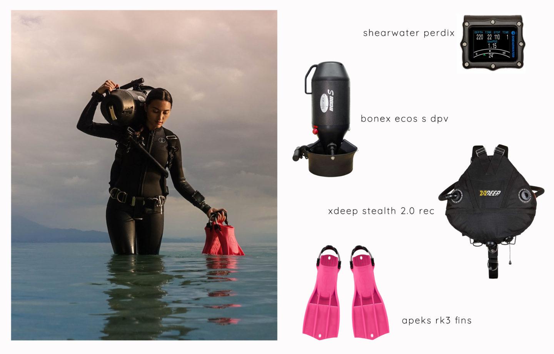Shop the Dive - Bonex and Xdeep